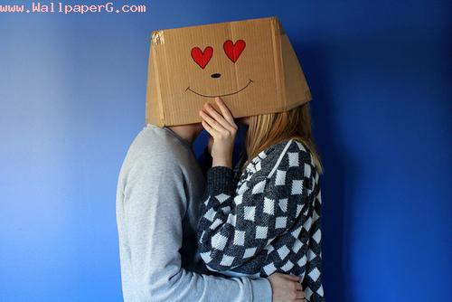 Love behind the box