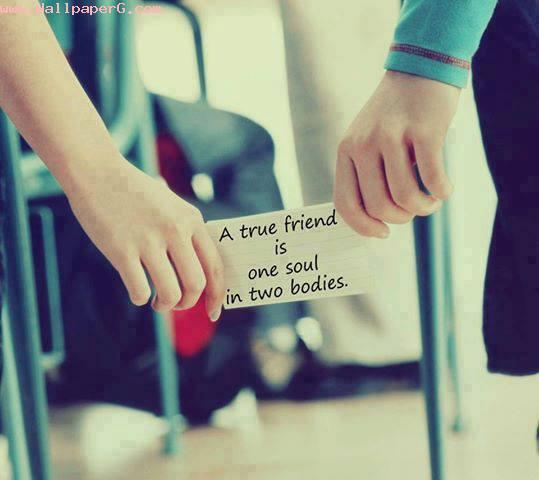 A true friend 1