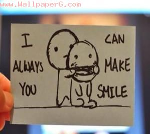 Only i can make you smile