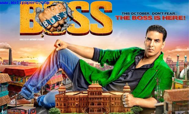Boss akshay kumar
