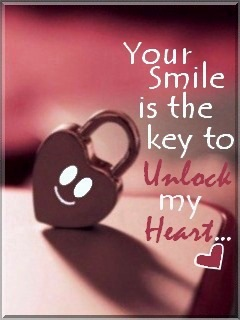 Keep smile to unlock my h
