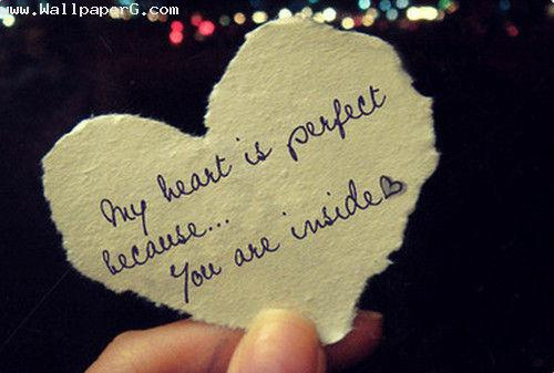My heart is perfect ,wide,wallpapers,images,pictute,photos