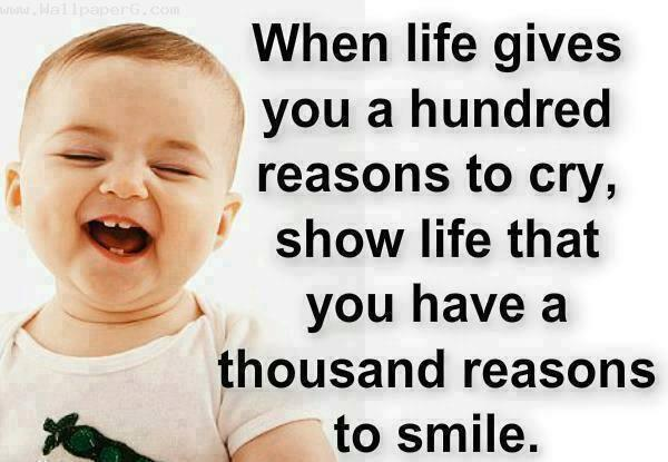Thousand reasons for smil