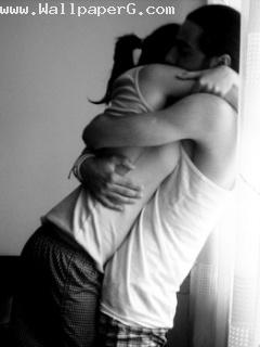 A hug which make me feel safe