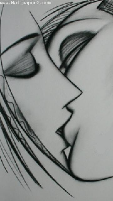 Kiss by art