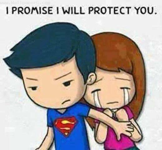 I promise i will protect