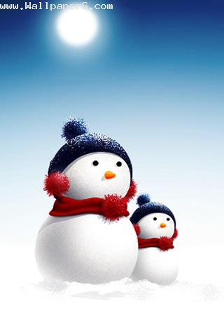 Snow man ,wide,wallpapers,images,pictute,photos