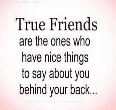 True friends are true