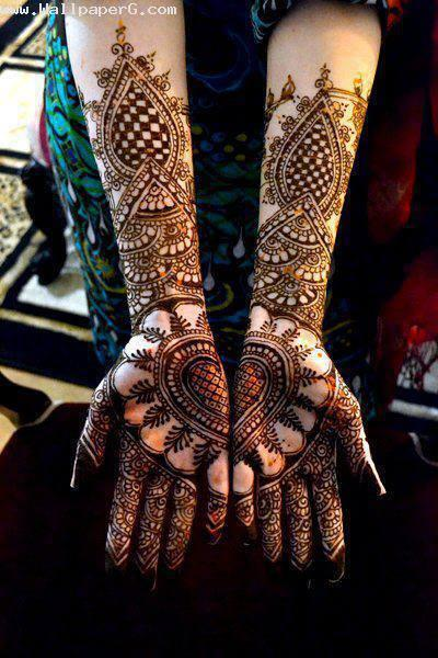 Cute mehendi design