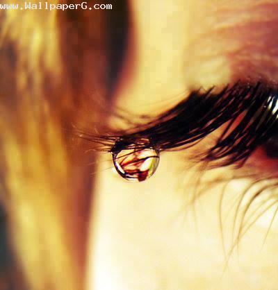 A drop of tear for you