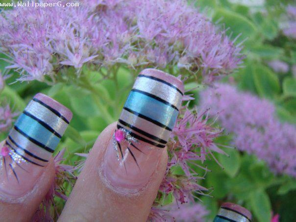 Beautiful nail art ,wallpapers,images,