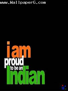 I am proud to be an india