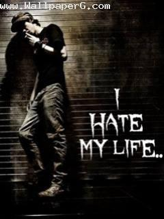 Hate Love Boy Wallpaper : Download I hate my life - Profile pics of boys-Mobile Version