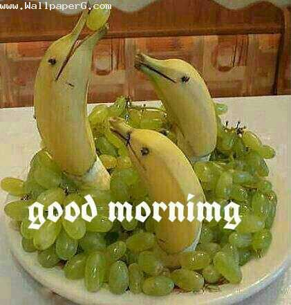 Morning with fruits