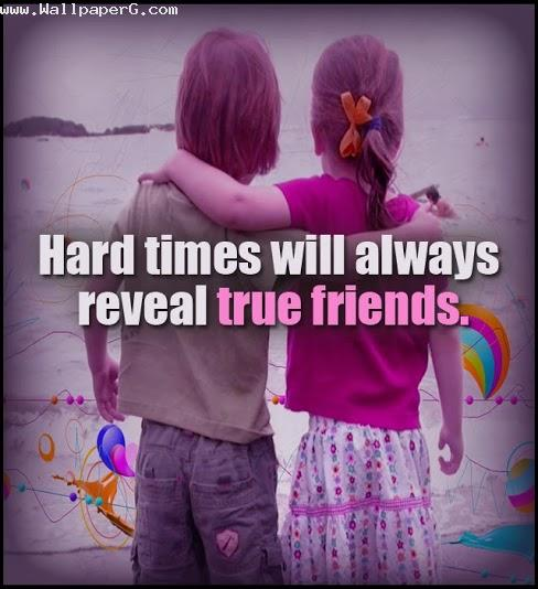 Reveal true friends