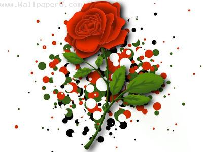 Rose makes by art ,wide,wallpapers,images,pictute,photos