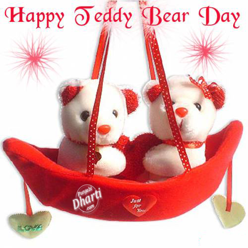 Happy teddy bear day teddy