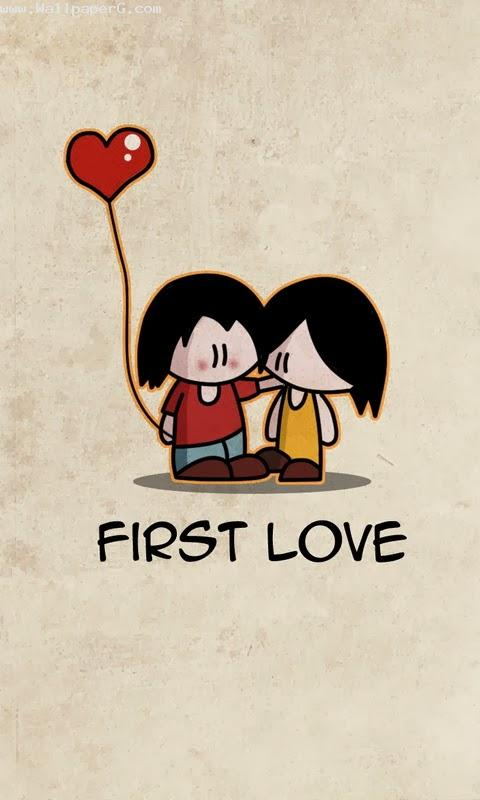 My first love always be w
