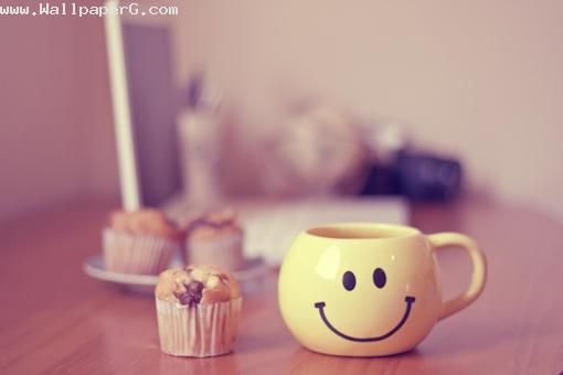 Good morning with smiling mug ,wide,wallpapers,images,pictute,photos