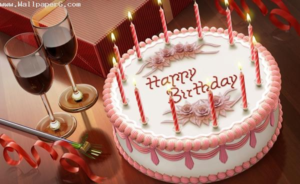 Beautiful birthday cake ,wide,wallpapers,images,pictute,photos
