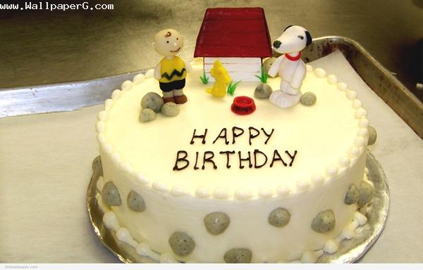 White birthday cake ,wide,wallpapers,images,pictute,photos