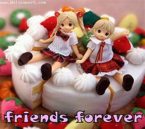 Friends forever cake ,wallpapers,images,