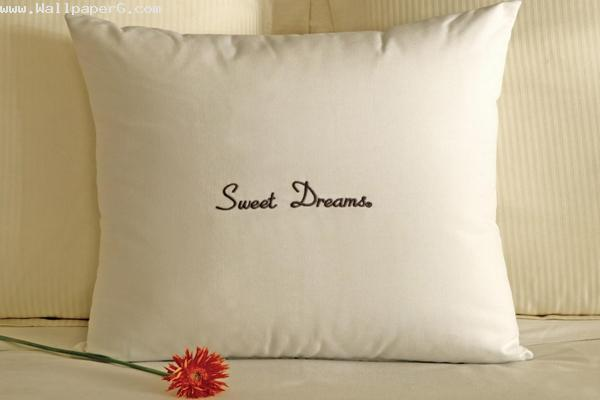Sweet dreams with pillow ,wide,wallpapers,images,pictute,photos