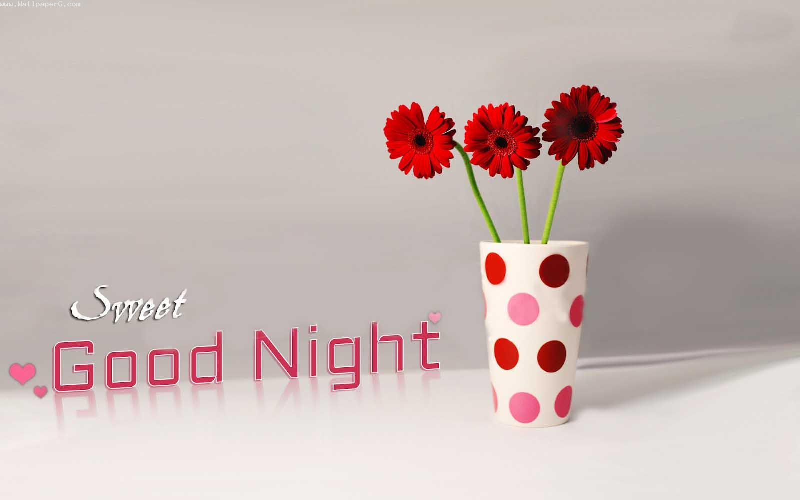 Sweet good night wallpaper