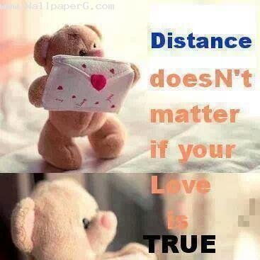 Distance doesnt matter
