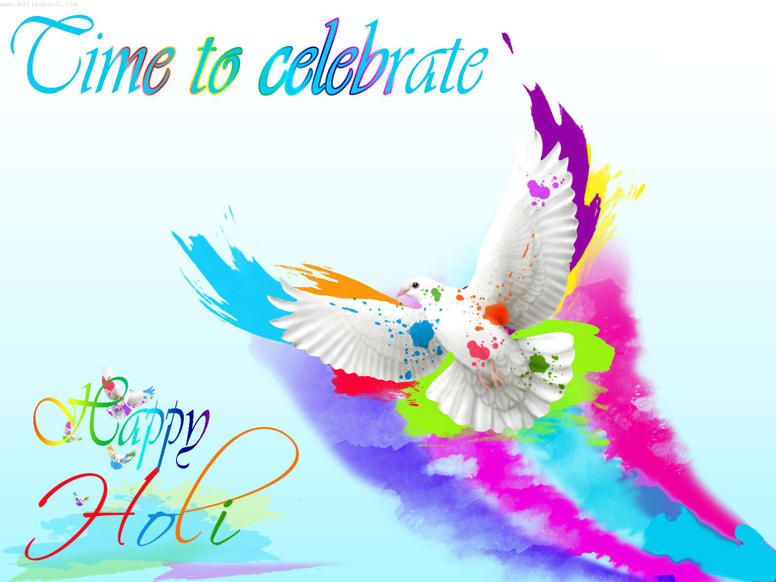 Time to celebrate holi