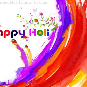 Happy holi with joy