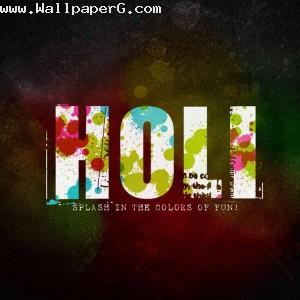 Holi splash in the color of fun ,wide,wallpapers,images,pictute,photos