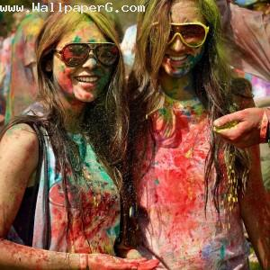 Holi the color of joy ,wide,wallpapers,images,pictute,photos