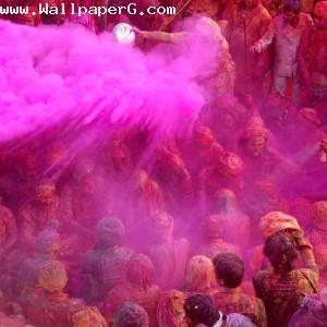 How to play holi in india