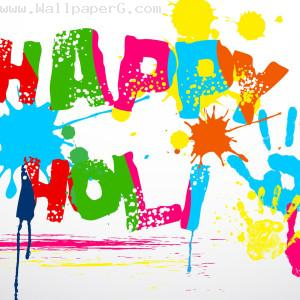 Holi splash design