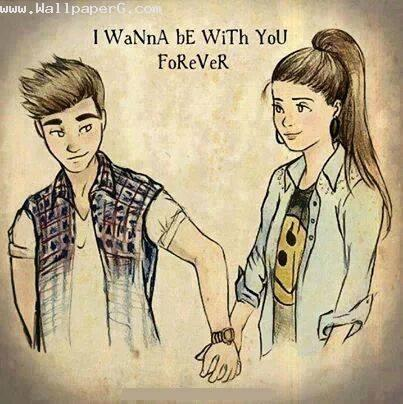 I wanna be with you forev