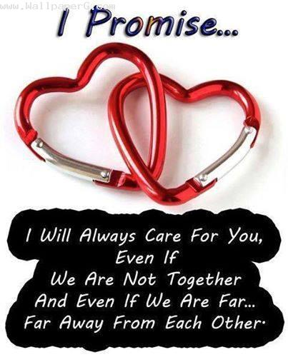 I will always care for u