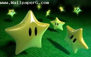 Yellow stars ,wide,wallpapers,images,pictute,photos