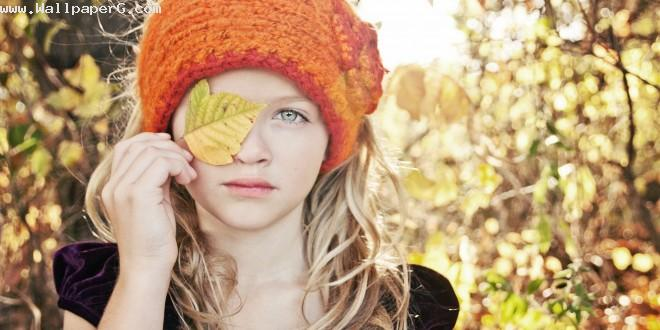 Girl in autumn  ,wide,wallpapers,images,pictute,photos