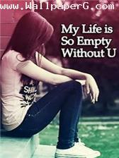 Empty without you ,wide,wallpapers,images,pictute,photos