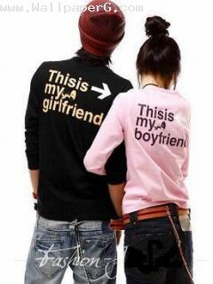 Boyfriend and girlfriend