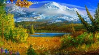 Awesome nature painting