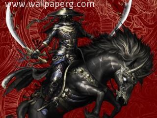Warrior swordman