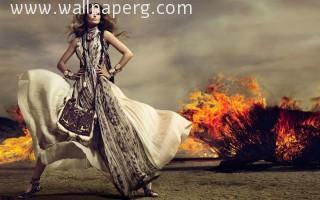 Fire girl ,wide,wallpapers,images,pictute,photos