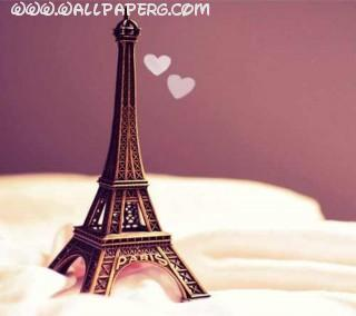 Cute eiffel tower