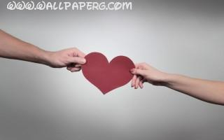 Heart paper ,wide,wallpapers,images,pictute,photos