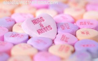 Hugs and kisses hearts