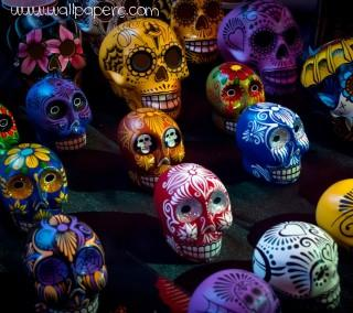 Abstract skulls ,wide,wallpapers,images,pictute,photos