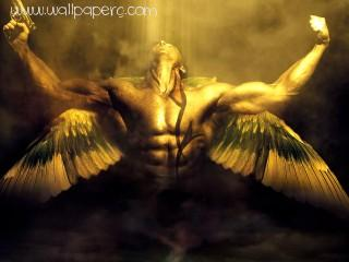 Angel gun ,wide,wallpapers,images,pictute,photos