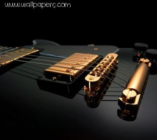 Black guitar ,wide,wallpapers,images,pictute,photos